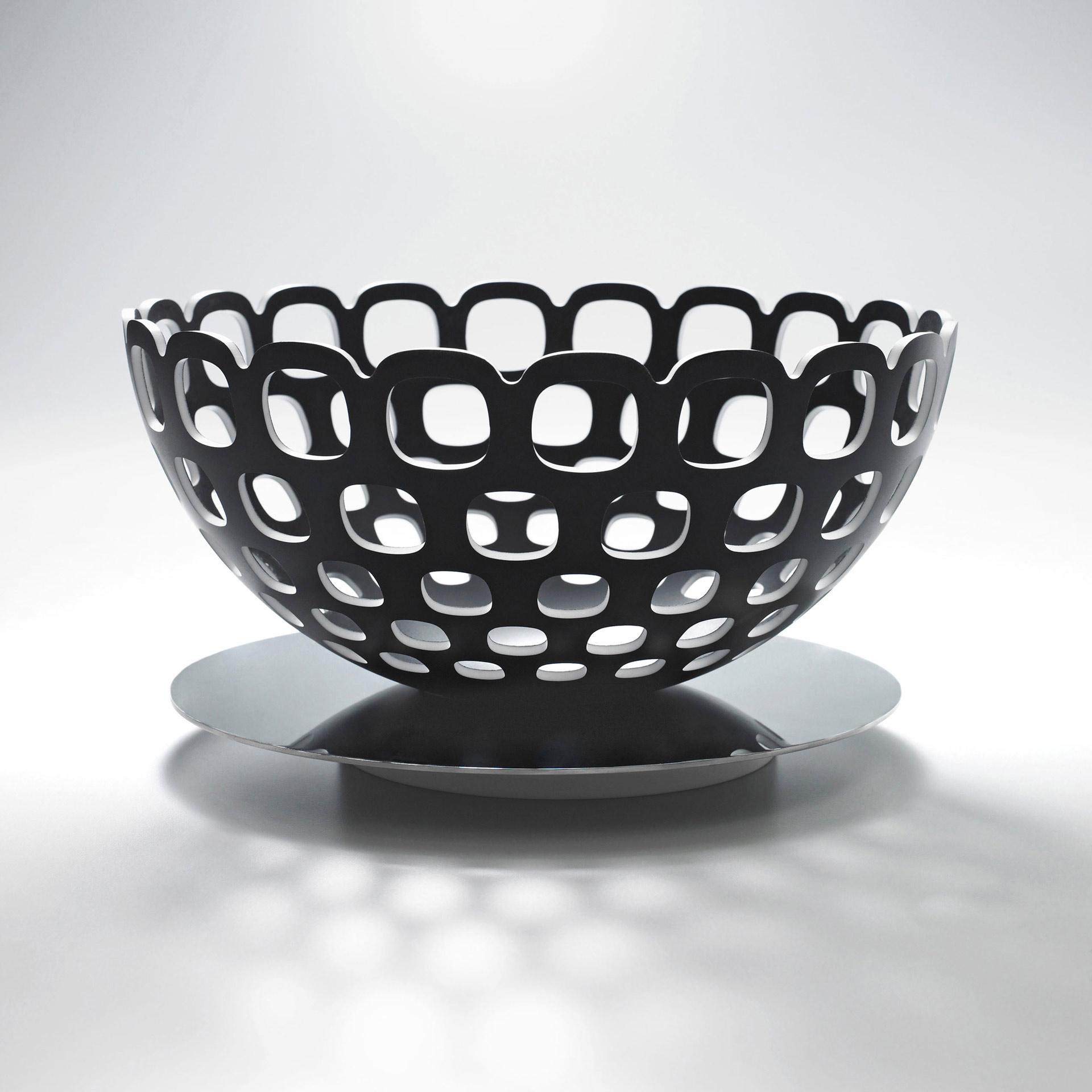 Mirror Bowl Centrotavola disegnato Luca Casini