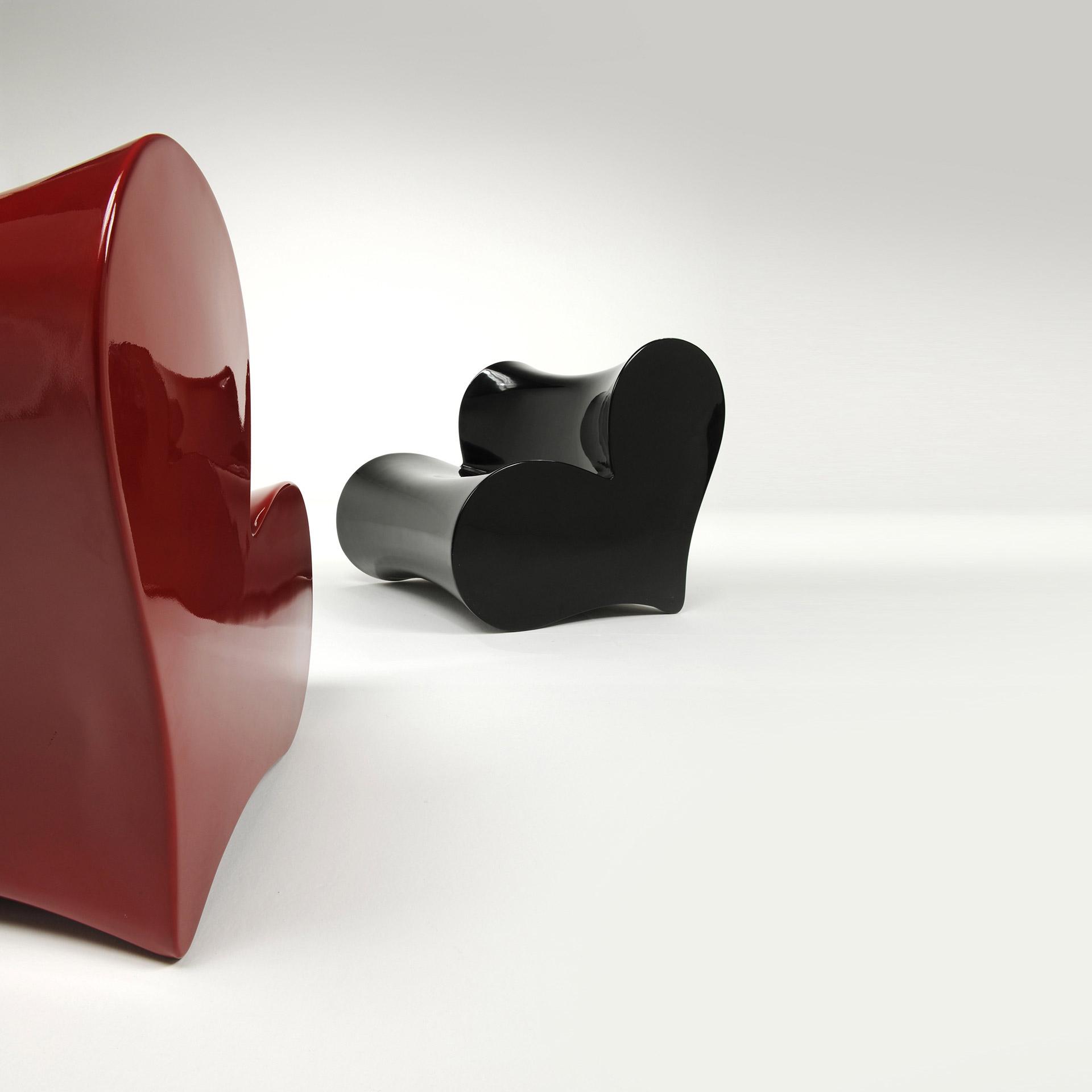 Sedia Useful Icon, Art Furniture Collection disegnata da Luca Casini